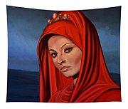 Sophia Loren 2  Tapestry