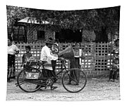 Sound Bike In Burma Tapestry