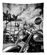 South Beach Cruiser Tapestry