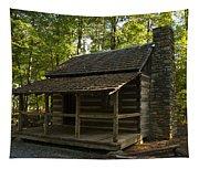 South Carolina Log Cabin Tapestry