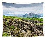 South Iceland Landscape Pingvellir Tapestry