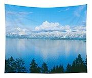 South Lake Tahoe In Winter, California Tapestry