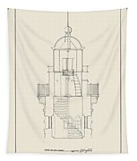 South Manitou Island Lighthouse Tapestry