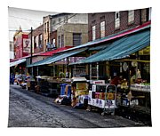 South Philly Italian Market Tapestry