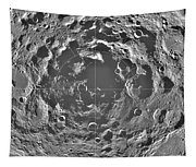 South Pole Of Moon  Tapestry