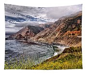 Souther California Coast Tapestry
