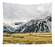 Southern Alps Nz Tapestry