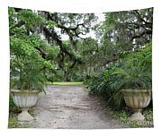 Southern Garden Welcome Tapestry