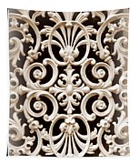 Southern Ironwork In Sepia Tapestry