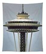Space Needle Tower Seattle Washington Tapestry
