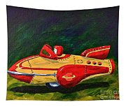 Space Patrol Two Tapestry