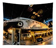 Space Shuttle Discovery Tapestry