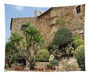 Spanish Church Garden Tapestry