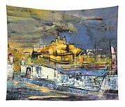 Spanish Harbour 03 Tapestry