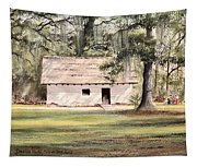 Spanish House Mission San Luis Tallahassee Tapestry