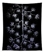Sparkling Diamond Snowflakes Tapestry