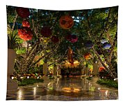 Sparkling Merry Exuberant Decorations Tapestry