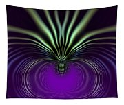 Spider Orchid Mandala Tapestry