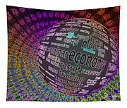 Spinning Out Of Control Tapestry