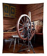 Spinning Wheel Tapestry
