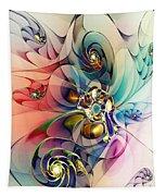 Spiral Mania 3 Tapestry