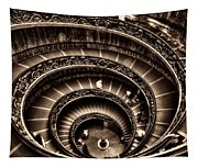 Spiral Staircase No1 Sepia Tapestry
