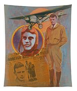 Lindbergh, Spirit Of St. Louis Tapestry