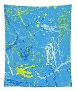 Splattering Tapestry