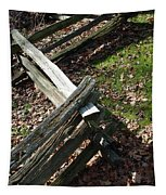 Split Rail Fence Tapestry