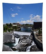 Spokane Falls And Riverfront Tapestry
