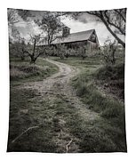 Spooky Apple Orchard Tapestry