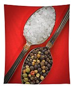Spoonfuls Of Salt And Pepper Tapestry