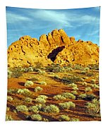 Spots Of Grass Tapestry