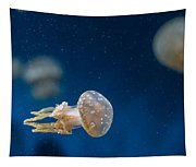 Spotted Jelly Aliens 2 Tapestry