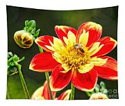 Spring Bee Tapestry