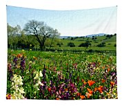 Spring Bouquet At Rusack Vineyards Tapestry