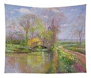 Spring Bridge Tapestry