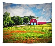 Spring Charm In The Hill Country Tapestry