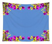 Spring Flower Frame Tapestry