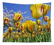 Spring Flowers 12 Tapestry