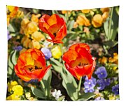 Spring Flowers No. 3 Tapestry