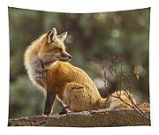 Spring Fox Tapestry