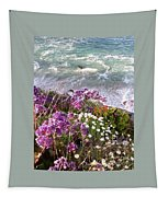 Spring Greets Waves Tapestry