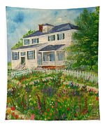 Spring In Colonial Williamsburg- Cole House Tapestry