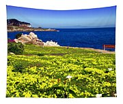 Spring In Pacific Grove Ca Tapestry