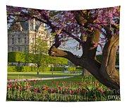 Spring In Paris Tapestry