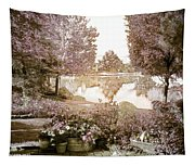 Spring Magical Fairyland Lake Tapestry