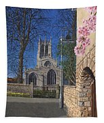 Spring Morning Brides Cottage Tickhill Yorkshire Tapestry