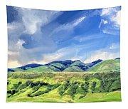Spring Rains Near San Luis Obispo Tapestry