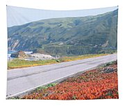 Spring, Route 1, California Coast Tapestry